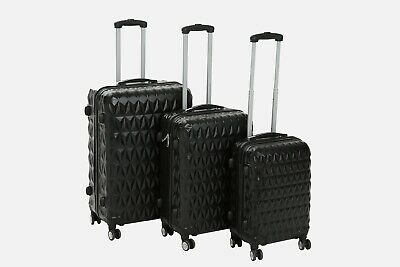 Hard Shell Trolley Suitcase 4 Wheel Spinner Lightweight Luggage Travel Case  • 78.99£