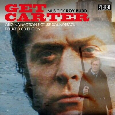 Get Carter (3cd Deluxe Hardback Book Edition) - Ost/budd,roy  5 Cd+buch New! • 84£