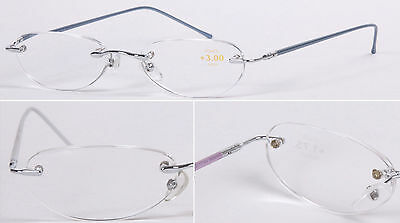 Superb Quality Classic Metal Reading Glasses/Women's Men's Rimless /Semi-Rimless • 4.39£