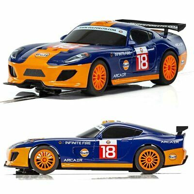 SCALEXTRIC Slot Car C4091 Team GT Gulf • 22.95£