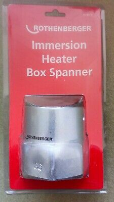 Rothenberger Immersion Heater Box Spanner 8.0735 With 'T' Bar- Brand New • 6.99£