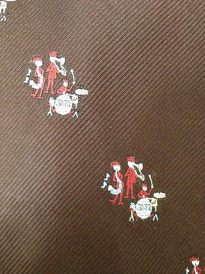 $27.71 • Buy Vintage 70s Jazz Band Drums Saxaphone Trombone Andhurst Wide Polyester Tie