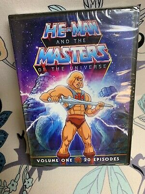 $12 • Buy He-Man And The Masters Of The Universe Volume One ~ 20 Episodes ~ DVD ~ NEW!