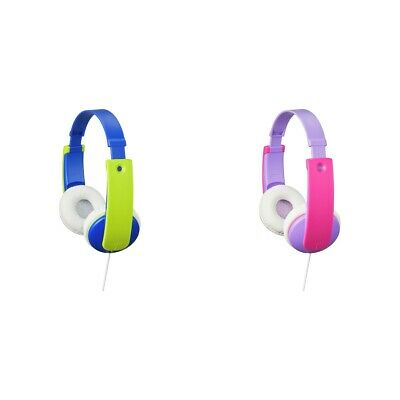 JVC On-Ear Volume Limited Wired Kids Headphones - Choice Of Colour. • 14.99£