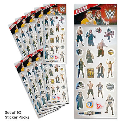 £7 • Buy WWE Stickers Party Bag Set Of 10