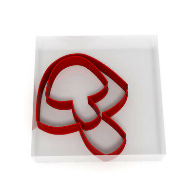 £3.99 • Buy Mushroom Cookie Cutter Set Of 2 Biscuit Dough Icing Pastry Shape UK Toadstool