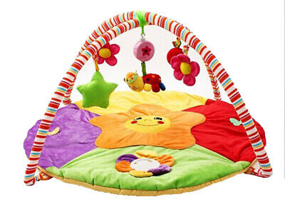 £35.95 • Buy Playpen Baby® 2-in-1 Sunflower Garden Plush Play Mat With Hanging Toys