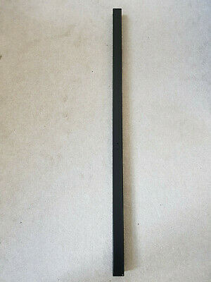 Metal Post 50x50x1400mm Hot Dip Galvanised For Garden Gates/fence. Black Colour • 20£