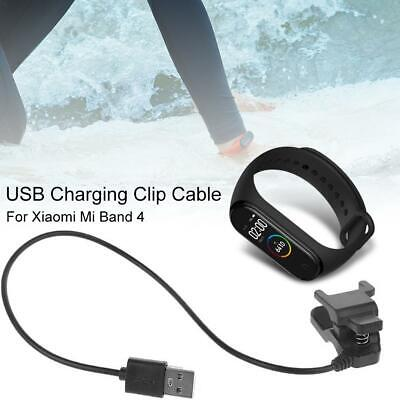 For Xiaomi Mi Band 4 Charger Cord Replace USB Charging Clip Cable Adapter DC 5V • 1.04$