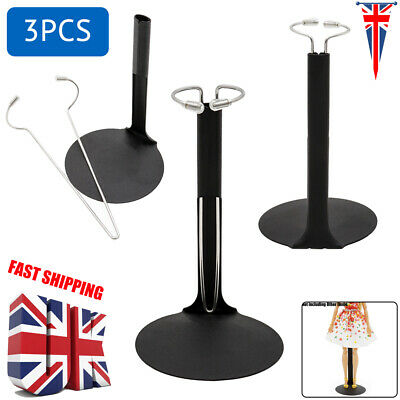 £6.99 • Buy UK 3PCS Doll Stand Metal Base Holder For 8 ~12  Action Figures Toy Collectibles