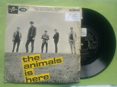 £13.99 • Buy The Animals/House Of The Rising Sun/I'm Crying/The Animals Is Here/EP SingleRARE