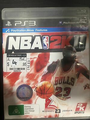 AU11 • Buy NBA 2K11 - Playstation 3 - Preowned
