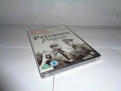 PRIVATE'S PROGRESS - IAN CARMICHAEL Dvd UK RELEASE NEW FACTORY SEALED • 16.99£