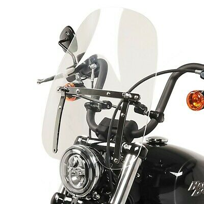$144.58 • Buy Windshield CW1 For Yamaha XV 1100/ 125/ 250/ 535/ 750 Virago, XV 950/ R Clear