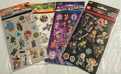 $10.99 • Buy Lego Movie Sticker's, Party Favors, Supplies For Birthday, Treat Bags