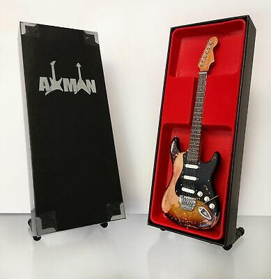 $ CDN47.69 • Buy (Bon Jovi) Richie Sambora Miniature Guitar Replica With Display Case And Stand
