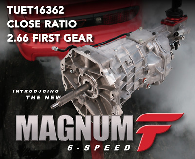 $3695 • Buy **NEW** Tremec T56 MAGNUM-F Fbody 6-Speed Transmission - Close Ratio 2.66 First