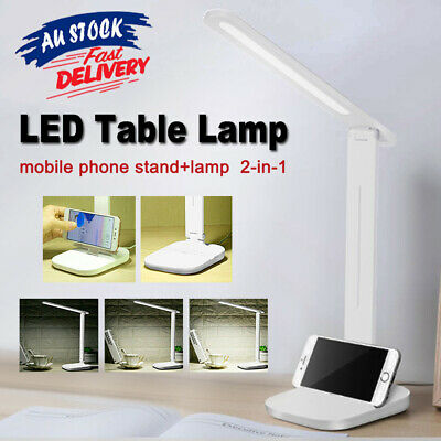 AU13.59 • Buy Touch LED Desk Lamp Bedside Study Reading Table Light Dimmable USB 3-Level Modle