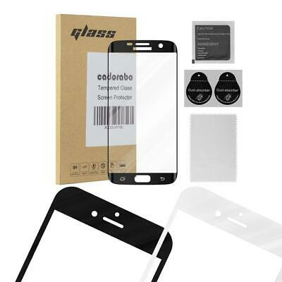$ CDN10.50 • Buy Screen Protector For Samsung Galaxy S7 EDGE Full Cover Tempered Glas Film 9H
