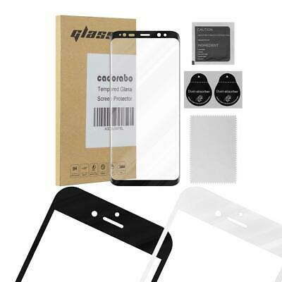 $ CDN10.50 • Buy Screen Protector For Samsung Galaxy S8 PLUS Full Cover Tempered Glas Film 9H