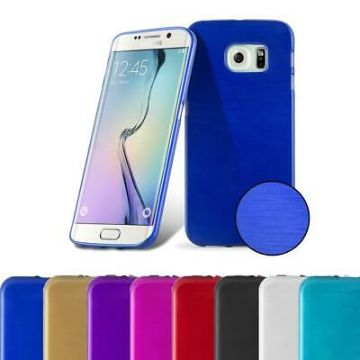 $ CDN7.50 • Buy Silicone Case For Samsung Galaxy S6 EDGE PLUS Shock Proof Cover Metallic Brushed