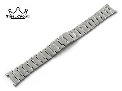 17 22mm For Omega Watch Stainless Steel Bracelet Strap Band Silver Constellation • 34.90£
