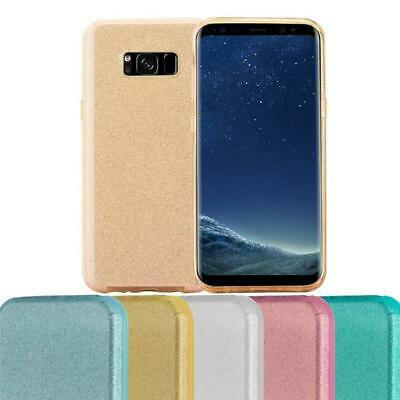$ CDN8.99 • Buy Silicone Case For Samsung Galaxy S8 PLUS Shock Proof Cover Glitter Stardust TPU