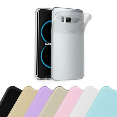 $ CDN7.50 • Buy Silicone Case For Samsung Galaxy S8 Shock Proof Cover Ultra Slim TPU Gel