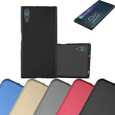 AU7.87 • Buy Silicone Case For Sony Xperia XZ / XZs Shock Proof Cover Mat Metallic TPU