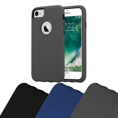 AU9.99 • Buy Case For Apple IPhone 7 7S 8 SE 2020 Outdoor Protective 3 In 1 Hybrid Hard Cover
