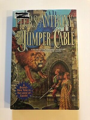Xanth: Jumper Cable 33 By Piers Anthony (2009, Hardcover) Ex-library • 3.74$