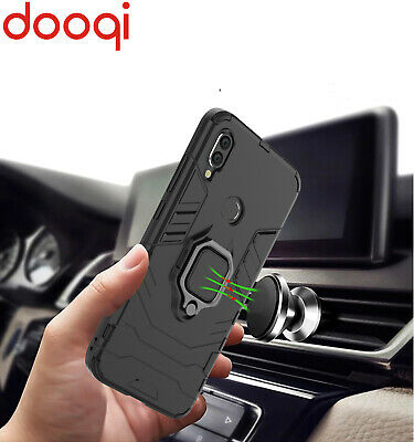 $6.99 • Buy For Xiaomi Redmi Note 7 Pro Shockproof Magnetic Holder Case + Car Phone Holder
