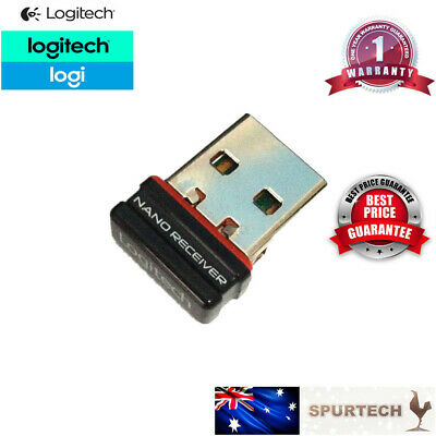 AU8.90 • Buy Logitech USB NANO Dongle Receiver 1 To 1 Unifying Wireless Mouse 2.4GHz