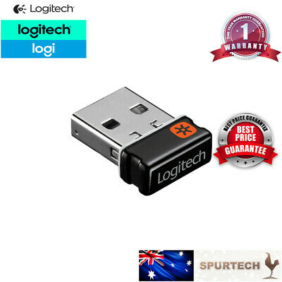 AU18.50 • Buy NEW Logitech USB Dongle Unifying Receiver 1 To 6 Wireless Keyboard Mouse 2.4Ghz