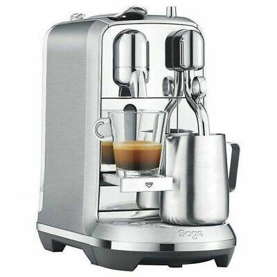 View Details Sage Nespresso Creatista Plus Pod Espresso Coffee Maker Machine 19Bar Stainless/ • 154.99£