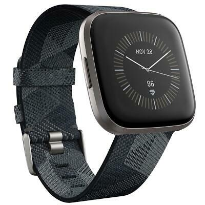 $ CDN255.18 • Buy Fitbit Versa 2 Health  Fitness Smartwatch, Special Edition, Smoke Woven/Mist