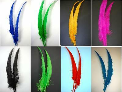 $5.99 • Buy Ostrich NANDU Trimmed FEATHERS 18 -23  Quality PLUMES 11+ Colors To Choose From