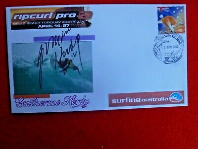 AU10 • Buy Surfer  Guilermo Herdy  Signed  Rip Cur Pro Bells Beach Cover 2003
