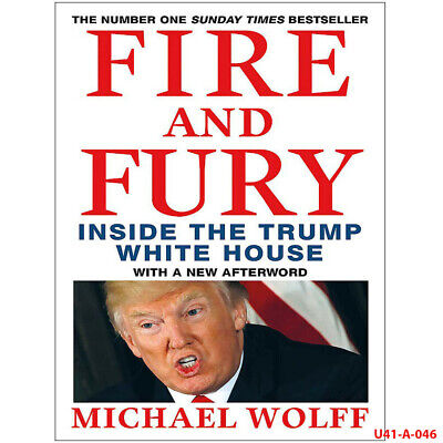 AU11.48 • Buy Fire And Fury By Michael Wolff  Political Leader Biographies, Paperback NEW