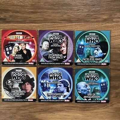 BBC Doctor Who The Sun Newspaper DVD Video Collection BBC WORLDWIDE LTD 2006 • 13£