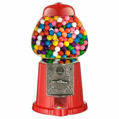 New Bubble Gum Gumball Dispenser Toy Machine 90g Bag Included Coin Operated Bank • 25.99£