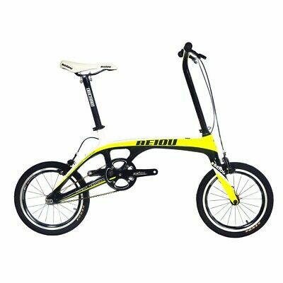 View Details BEIOU Sports Downtown Carbon 1 Speed Complete Bicycle Urban Bike 15.2lb CB006WH • 314.00£