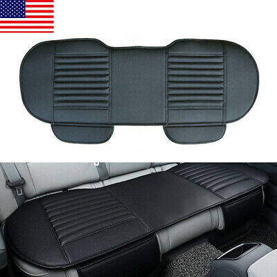 $19.94 • Buy Auto Car PU Leather Rear Back Seat Cover Breathable Cushion Chair Accessories