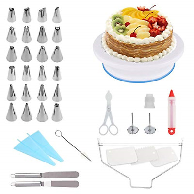 £24.46 • Buy Ever Rich ® 39 Pieces Cake Decorating Pastry Tool Kit. Professional Cupcake Kit.