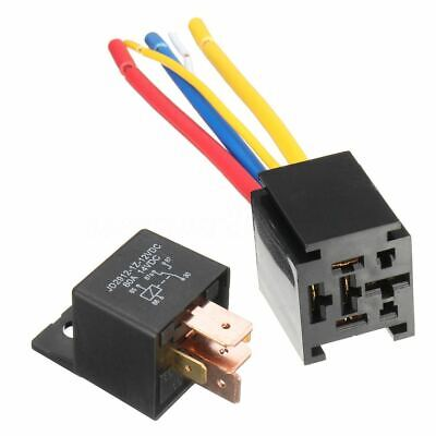 $ CDN10.53 • Buy Waterproof 12V 5Pin DC AMP SPDT Car Relay 80A Switching Capability With Socket C