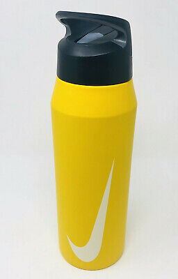 $26.99 • Buy New Nike 32 OZ Stainless Steel Water Hydration Straw Bottle Gym Workout Sports