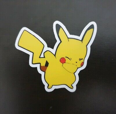AU3.99 • Buy Dab Pikachu Sticker Car Laptop Phone JDM SLAP