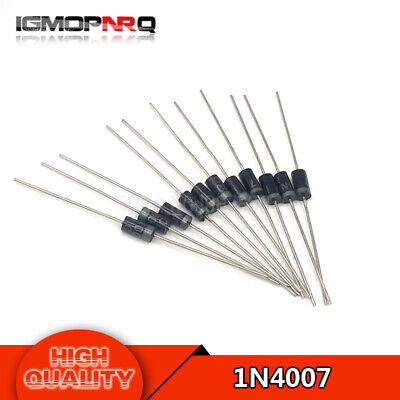 $ CDN4.75 • Buy 100pcs/lot 1N4007 IN4007 4007 1A 1000V Original Diode Rectifier Quality High
