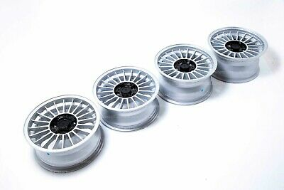 AU2193.25 • Buy 16'' Wheel Set For BMW E3 E9 E12 E23 E24 E28 M5 Alpina 5x120 Staggered Open Lug