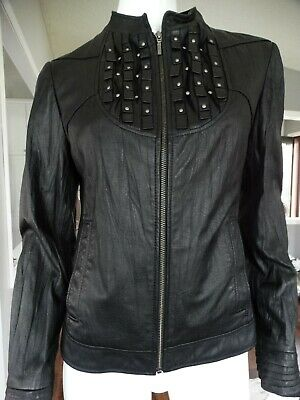 $ CDN129.99 • Buy DANIER Crinkle Leather Jacket Small